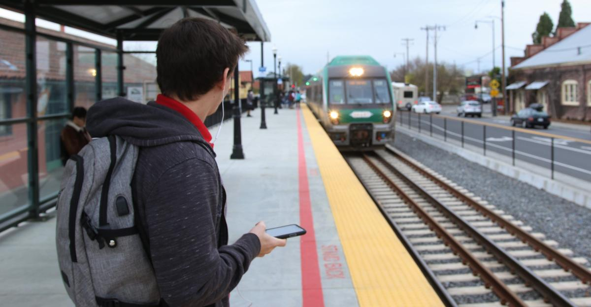 Mobile Apps for Transit Riders | Sonoma-Marin Area Rail Transit