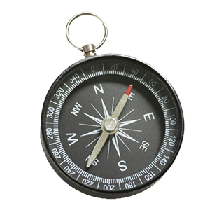 Image of a compass.